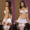 Комплект эротического белья белый STM-9212white OS