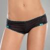 Секси-шортики с контрастной отстрочкой CA-5091Pblack L