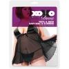 Черные виниловые сорочка и трусики DIVA 17-4017XOD