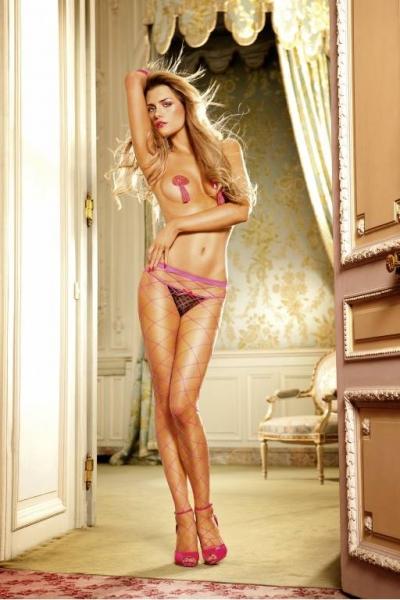Barbie Колготки OS (42-46), неоновый розовый
