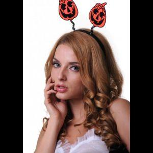 Ободок Хэллоуин Тыква