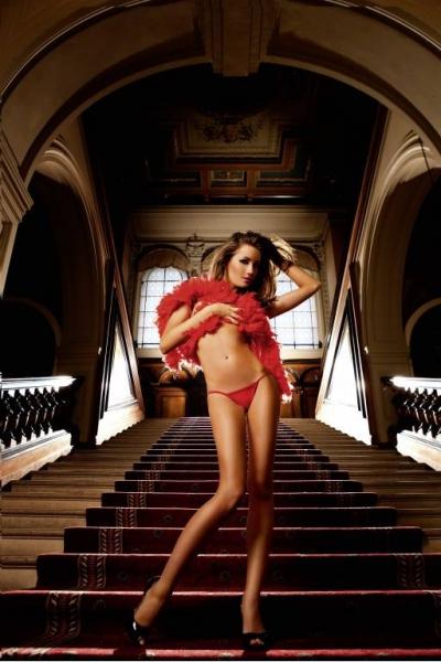 NeonBarock Трусики женские OS, красный