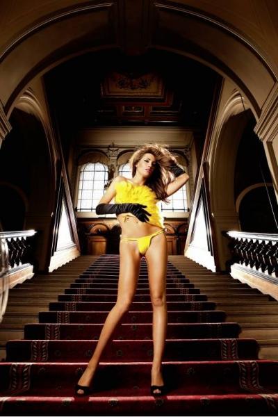NeonBarock Трусики женские OS, желтый